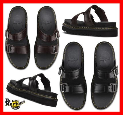 b9bb87a72d6b Dr Martens MYLES 2018 SS Unisex Street Style Leather Sandals by ...