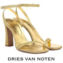Dries Van Noten Open Toe Plain Elegant Style Peep Toe Pumps & Mules