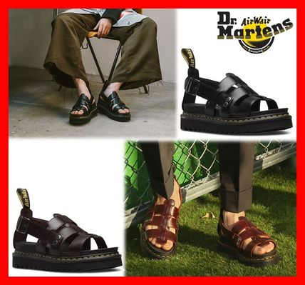 best online offer the best attitude Dr Martens TERRY 2019 SS Casual Style Unisex Street Style Sandals