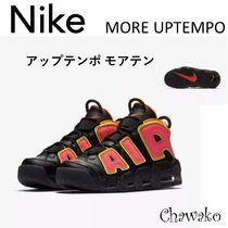 Nike AIR MORE UPTEMPO Unisex Leather Sneakers