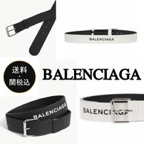 BALENCIAGA Plain Belts