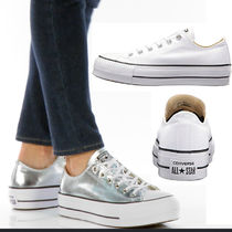 CONVERSE ALL STAR Platform Lace-up Casual Style Platform & Wedge Sneakers