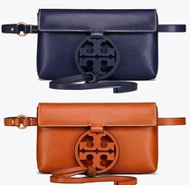 Tory Burch Plain Leather Clutches