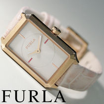 FURLA Leather Quartz Watches Analog Watches