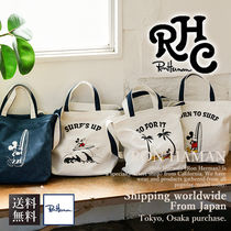 Ron Herman Casual Style Unisex 2WAY Totes