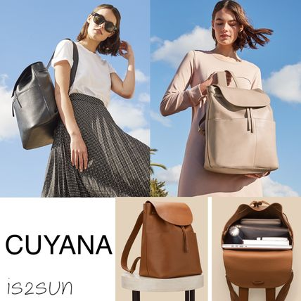 2d260ee084 CUYANA 2018 SS A4 2WAY Plain Leather Backpacks by is2sun - BUYMA