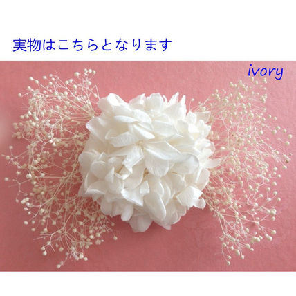 Flower Patterns Blended Fabrics Plain Wedding Accessories