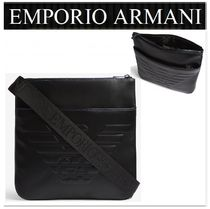 EMPORIO ARMANI Unisex Street Style Messenger & Shoulder Bags