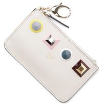 FENDI Leather Keychains & Bag Charms