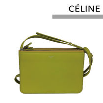 CELINE Trio Bag Casual Style Shoulder Bags