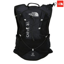 THE NORTH FACE Unisex Nylon Street Style A4 Plain Bold Backpacks