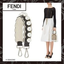 FENDI STRAP YOU Dots Leather Bags