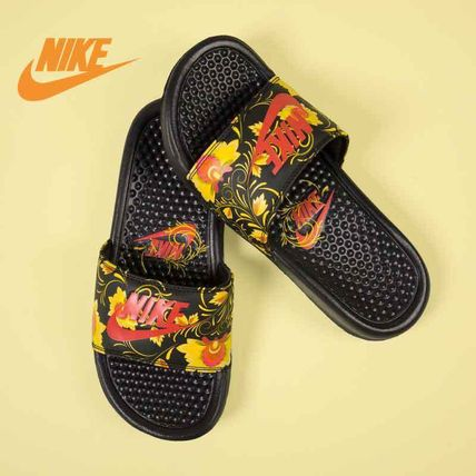 45ccc3caf3f4 discount nike more sandals flower patterns casual style street style pvc  clothing fcd72 b2412