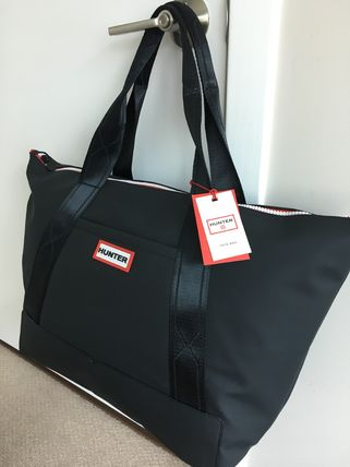 Casual Style Street Style Collaboration Totes