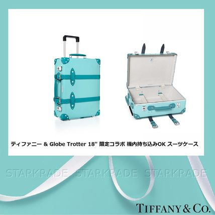 Tiffany & Co Unisex Collaboration Hard Type Carry-on