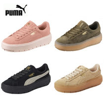 PUMA SUEDE Casual Style Street Style Collaboration Low-Top Sneakers
