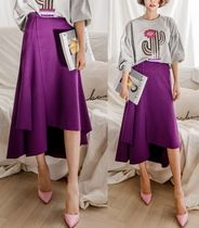 Flared Skirts Medium Midi Skirts