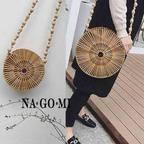 Casual Style Bag in Bag Straw Bags