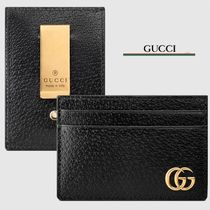 GUCCI GG Marmont Plain Leather Wallets & Small Goods