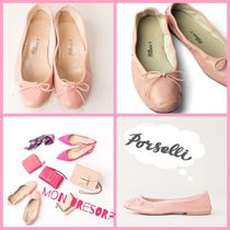 PORSELLI Leather Handmade Ballet Shoes