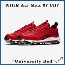 Nike AIR MAX 97 Street Style Collaboration Plain Sneakers