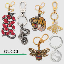 GUCCI Blended Fabrics Other Animal Patterns Leather