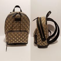 GUCCI Monogram Canvas Other Animal Patterns Backpacks