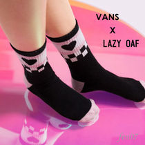 LAZY OAF Other Check Patterns Heart Collaboration Cotton