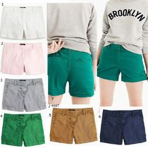 J Crew Short Plain Cotton Denim & Cotton Shorts
