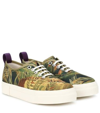 Tropical Patterns Unisex Street Style Sneakers