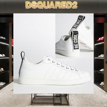 D SQUARED2 Plain Leather Sneakers