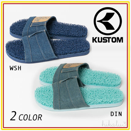 Open Toe Casual Style Plain Slippers Sandals