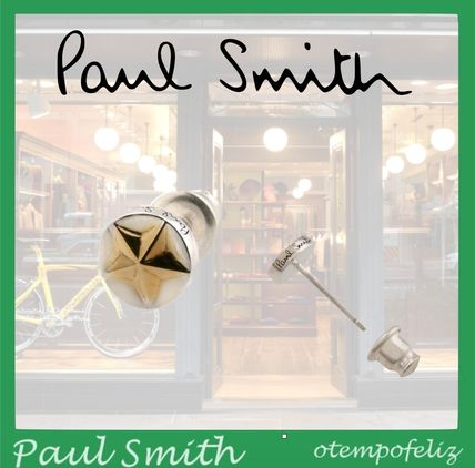 Paul Smith Earrings Star Uni Silver