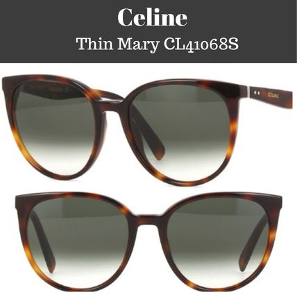 b00aed5aa609 CELINE Round Sunglasses (CL 41068   S) by softwet - BUYMA