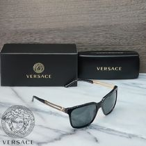 VERSACE Square Sunglasses