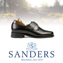 SANDERS Casual Style Leather Loafer & Moccasin Shoes