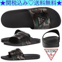 Guess Camouflage Bi-color Shower Shoes Shower Sandals
