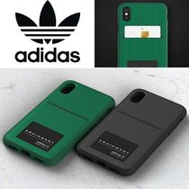 adidas Unisex Street Style Plain Smart Phone Cases