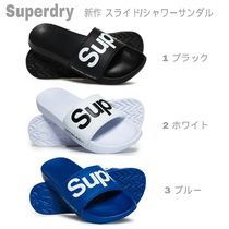 Superdry Plain Toe Unisex Street Style Plain Shower Shoes