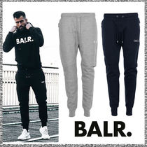 BALR Unisex Street Style Plain Cotton Joggers & Sweatpants
