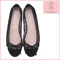 Pretty Ballerinas Dots Round Toe Casual Style Ballet Shoes