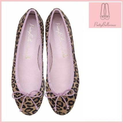 Fur Other Animal Patterns Ballet Shoes