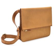 MINOR HISTORY Plain Leather Shoulder Bags