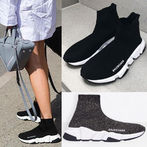 BALENCIAGA Casual Style Unisex Street Style Plain Low-Top Sneakers