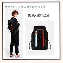 Stella McCartney FALABELLA Casual Style Faux Fur Backpacks