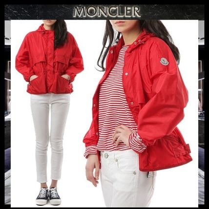 MONCLER More Jackets Short Street Style Plain Jackets ...