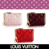 Louis Vuitton MONOGRAM VERNIS Monogram Leather Coin Purses