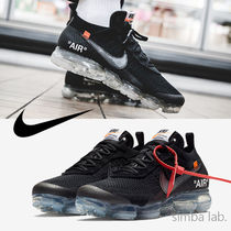 Nike Vapor Max Plain Toe Street Style Collaboration Sneakers