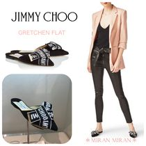 Jimmy Choo Casual Style Suede Plain Sandals Sandals