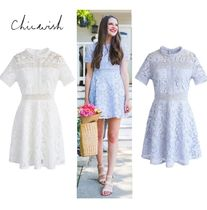 Chicwish Short A-line Short Sleeves Home Party Ideas Elegant Style